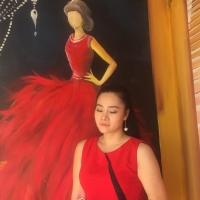 Chị My Vân giám đốc thời trang giã hội MYVALY