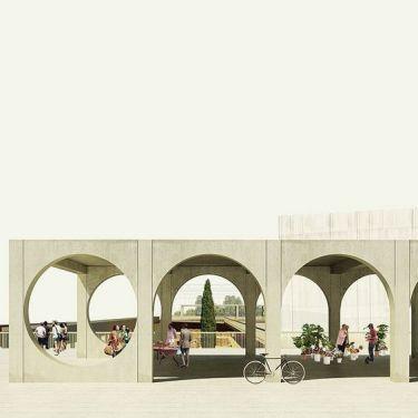 Mẫu tranh 3D trang trí quán cafe 07