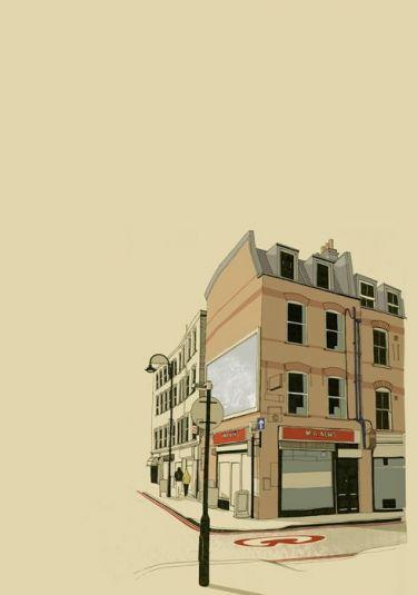 Mẫu tranh trang trí quán cafe 08