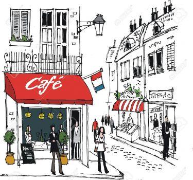 Mẫu tranh trang trí quán cafe 09