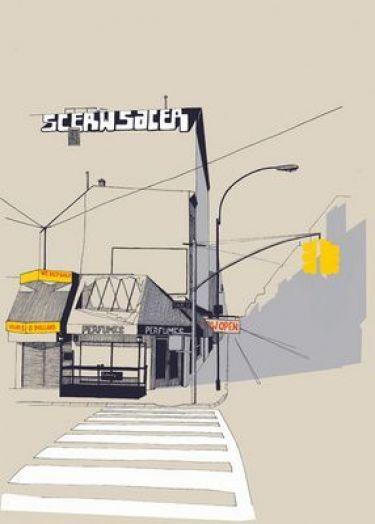 Mẫu tranh trang trí quán cafe 10