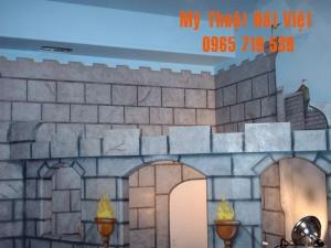 Mẫu tranh tường 3d hiện đại -11