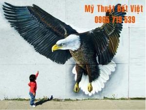 Mẫu vẽ tranh tường 3d - hiện đại -15