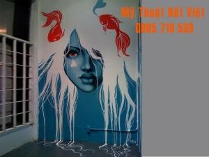 Mẫu vẽ tranh tường 3d - hiện đại -17