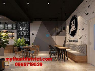 mẫu vẽ tranh tường quán trà sữa 08