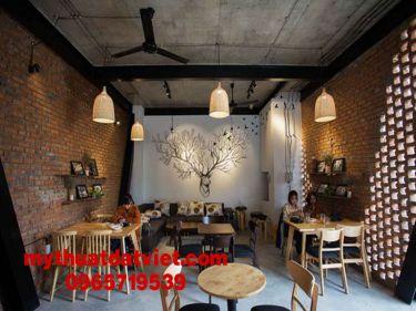 mẫu vẽ tranh tường quán trà sữa 10
