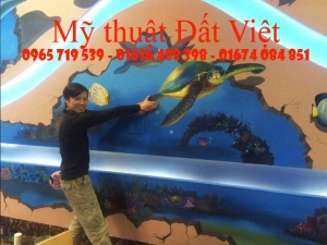 Tranh Tường 3D đẹp 120 Kim Mã, Hà Nội, Việt Nam