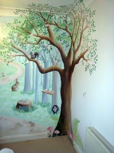 Tranh Tường Phòng Em Bé 09