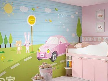 tranh tường phòng em bé 01