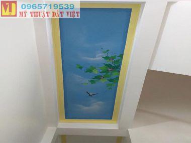 Vẽ trần mây đẹp 09