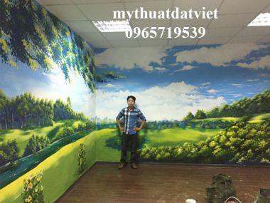 Dịch vụ vẽ tranh trường Hà Nội
