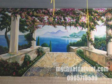 Dịch vụ vẽ tranh tường Hà Nội