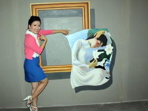 Vẽ tranh tường 3d tại Tp.Vinh, Nghệ An