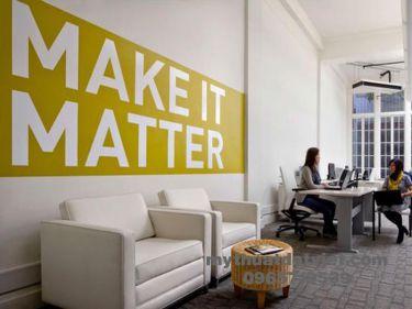 Vẽ tranh tường văn phòng công ty 01