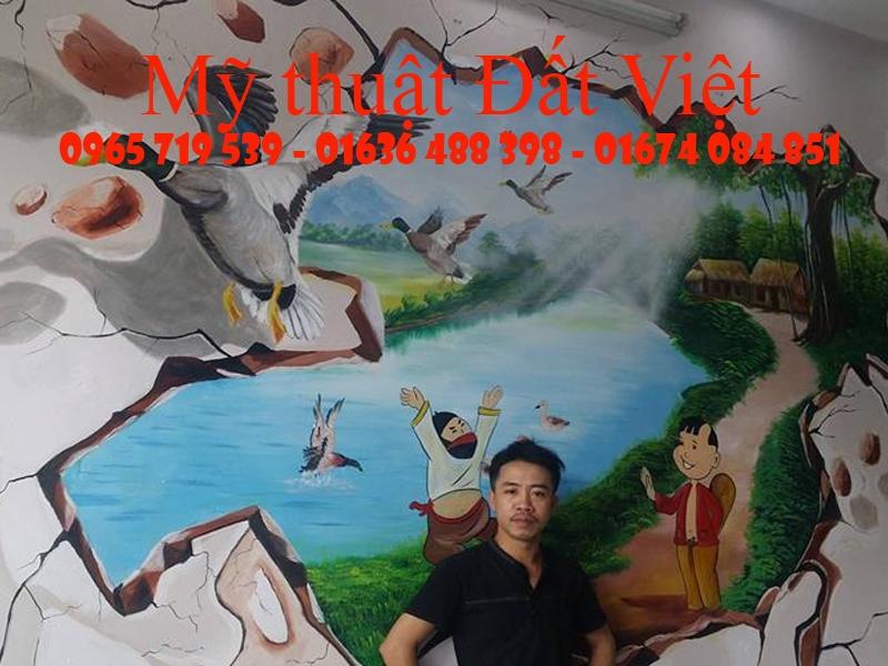 Tranh tương 3D đẹp  - Tại Hà Nội